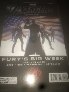 Marvel Avengers Prelude #2 Mint Limited