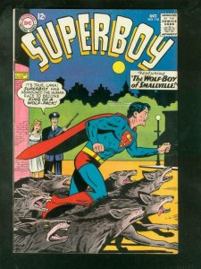 SUPERBOY #116 1964-DC COMICS-WOLF BOY OF SMALLVILLE--HG VF
