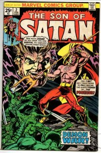 SON OF SATAN #2, VG, Demon, Possession, Hell 1976