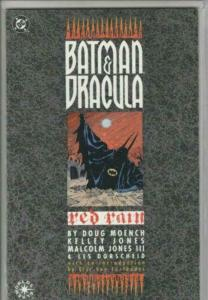 Batman and Dracula Red Rain #1, GN (1992, DC) NM, First Print! Variant Cover