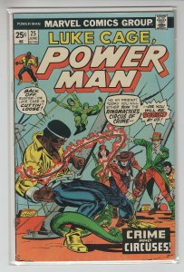 POWER MAN (1974 MARVEL) #25 VG/FN A98651