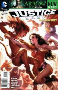 Justice League (2nd Series) #13A VF/NM; DC | save on shipping - details inside