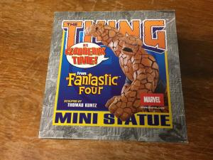 THING Fantastic Four Mini Statue 2003 Bowen Designs IN BOX #'d TWT1