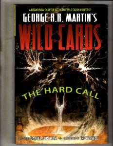 Wild Cards Hard Call Comic Book HARDCOVER Graphic Novel George R.R. Martin J346