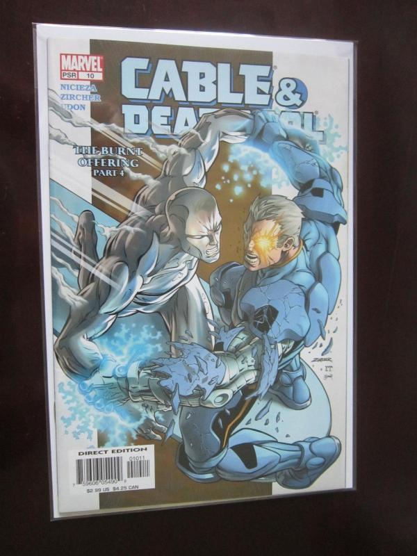 Cable and & Deadpool #10 - 8.0 - 2005