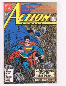 Action Comics (1938 DC) #585 DC Comic Book Phantom Strangers HH3