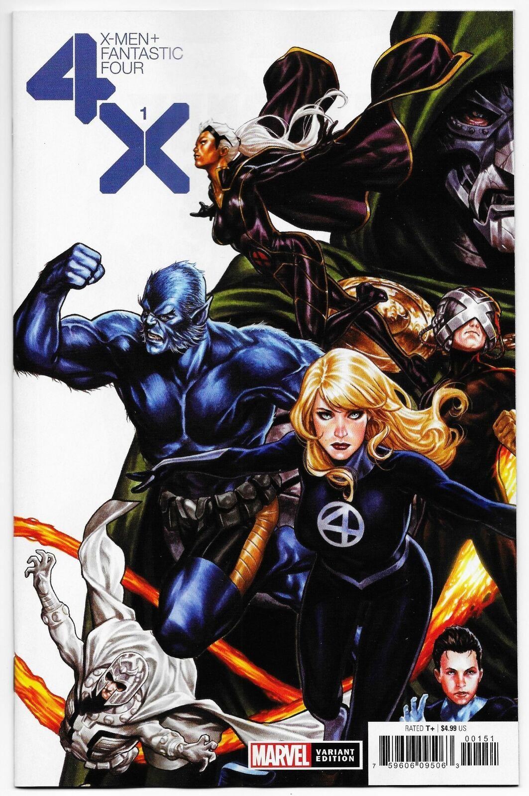 Modern Age (1992-Now) NM The Punisher #1 Fantastic Four Variant Marvel,  2018 emojiplay.vn