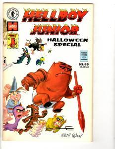 7 Comics Hellboy Junior 1 2 Nevermen 1 DHP 142 143 Corpse HB Weird Tales 6 TD10