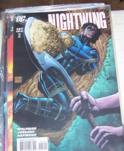 NIGHTWING  # 127  2007 DC COMICS  +dick grayson  batman raptor dead