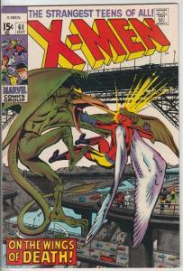 X-Men #61 (Oct-69) VF/NM+ High-Grade X-Men