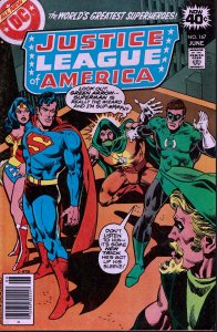 Justice League of America #167 - VF - 1st Series - 1979