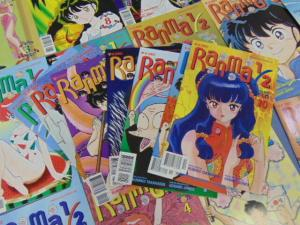 Lot of 28 Ranma 1/2 Viz Comics Manga Books Parts 8 9 10 11 Rumiko Takahashi MINT