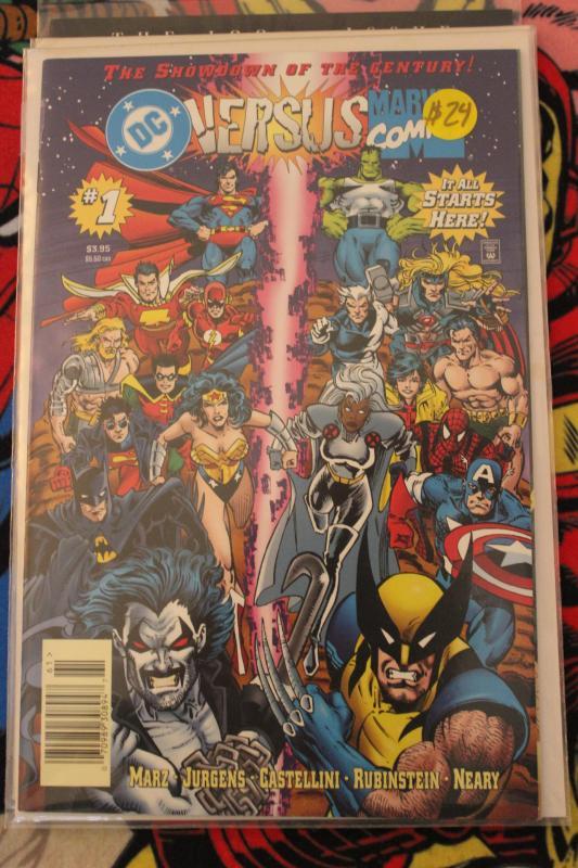 DC Versus Marvel Comics 1 NM/MT