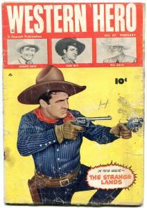 Western Hero Comics #87 1950- Monte Hall- Tom Mix- Bill Boyd FAIR
