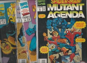 Spider-Man the Mutant Agenda Set 0-3 #1to4 (Feb-94) NM Super-High-Grade Spide...