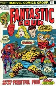 Fantastic Four #129 (ungraded) stock photo