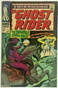 GHOST RIDER#5  FN 1967 MARVEL SILVER AGE COMICS