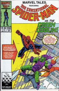 Marvel Tales (2nd Series) #191 VF/NM; Marvel | save on shipping - details inside
