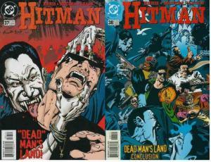 HITMAN (1996) 37-38  Dead Man's Land