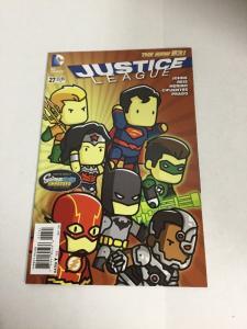 Justice League 27 Variant Nm Near Mint DC Comics New 52