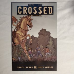 Crossed Family Values 2 Very Fine+ Cover by Jacen Burrows
