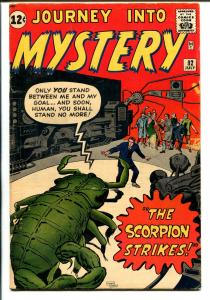 Journey Into Mystery #82-1962-Marvel-Kirby & Ditko-last pre-super hero-VG/FN