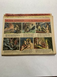 Flash Gordon Complete Year 1953 Tabloid Size Color Newspaper Sundays