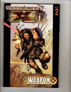 Ultimate X-Men Vol. # 2 Weapon X Wolverine TPB Graphic Novel Comic Book MF19