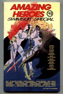 AMAZING HEROES Swimsuit Special 1992 - Steve Rude - Adam Hughes - Comic book