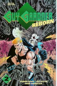 Guy Gardner Reborn #2 VF/NM; DC | save on shipping - details inside
