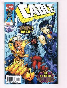 Cable #55 VF Marvel Comics Comic Book Casey X-Men Cyclops May 1998 DE22