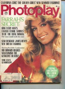 Photoplay-Farrah Fawcett-Majors-O.J. Simpson-Woody Allen-June-1977