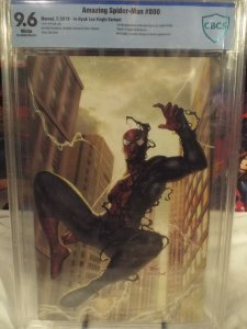 Amazing Spider-Man #800  CBCS 9.6  NM+ Death of Anti-Venom  In-Hyuk Lee Virgin