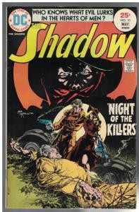 SHADOW (1973) 10 FN May 1975 Robbins,Kaluta cvr