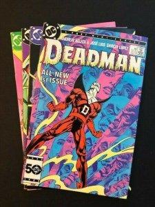 DC DEADMAN 4 Part Mini-Series #1-4 1985 2nd series VF (A187)