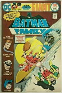 BATMAN FAMILY#4  FN 1976 DC BRONZE AGE COMICS
