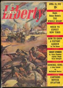 Liberty Magazine April 24 1943- Grace Flandrau- Captain Dingle