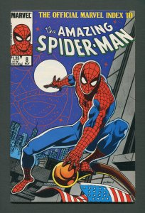 Amazing Spiderman Official Index #8  / 9.0 VFN/NM - 9.2 NM-  /  November 1985