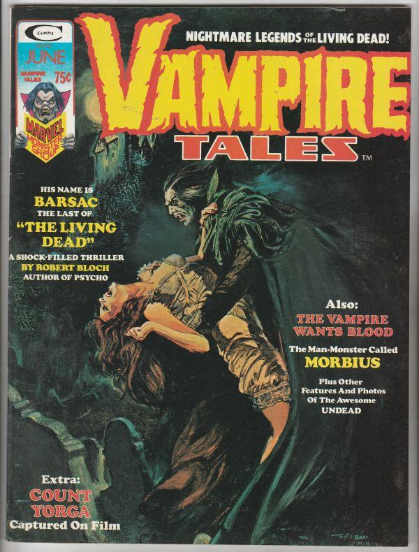 Vampire Tales #5 (Apr-74) NM/NM- High-Grade Morbius the Living Vampire