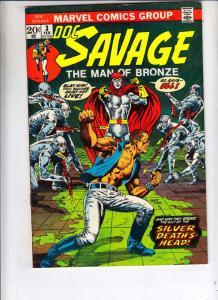 Doc Savage the Man of Bronze #3 (Feb-72) VF/NM High-Grade Doc Savage