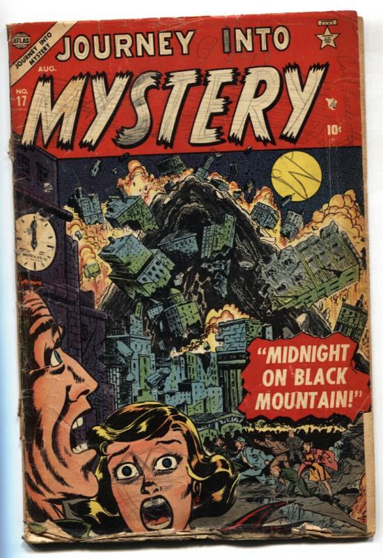 Journey Into Mystery #17 Atlas Pre-Code Horror RARE  G