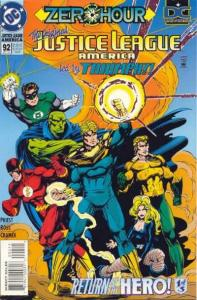 Justice League (1987 series) #92, NM- (Stock photo)