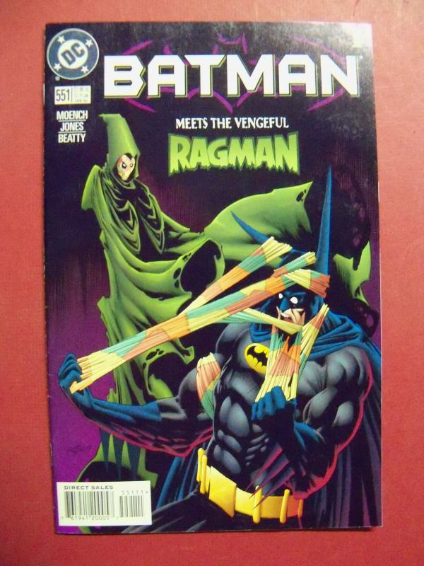 BATMAN #551 (Near Mint 9.4 or better) DC COMICS  1998