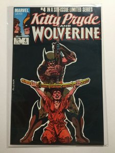 Kitty Pryde And Wolverine 4 Near Mint Nm Marvel