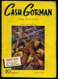 CASH GORMAN (THE WIZARD) 1941 JUN-STREET & SMITH PULP VG
