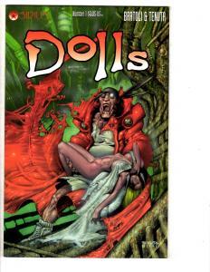 3 Dolls/Dollz Sirius/Image Comic Books # 1 (1) 2 Bartoli Tenuta Green MS8