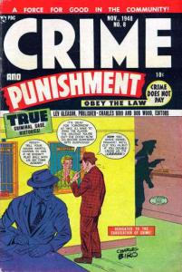 Crime and Punishment #8, VG- (Stock photo)