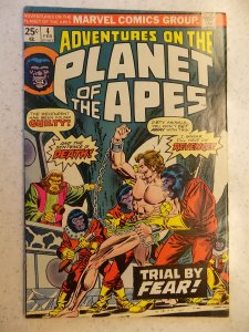 PLANET OF THE APES # 4 MARVEL MOVIE SCI-FI FANTASY ADVENTURE