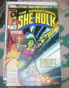 The Sensational She-Hulk # 6 oct 1989, Marvel JEN WALTERS star truck john byrne