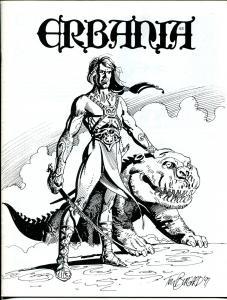 Erbania #68 1994 -Edgar Rice Burroughs-Tarzan-Burgard-Jeff Jones-info-pix- VG